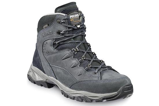 Meindl Arizona GTX men, schoen uit de A-B categorie, weegt 670 gram. Door de Gore Tex voering ademt deze schoen perfect.
